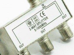 Antenna Splitter 3-WAY 5-1000MHZ Splitter