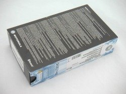Box MOTOROLA K1 Blue CD, Cable
