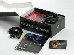 Box NOKIA 5800 Xpressmusic Drivers Cables Manual