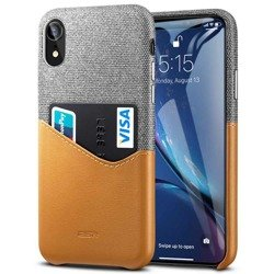Case ESR Metro Apple iPhone XR Brown Gray Case for Charter
