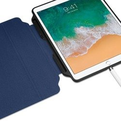 "Fold Smart Case SPIGEN ""2"" Apple Ipad 9.7 2017/2018 Blue Blue Case"