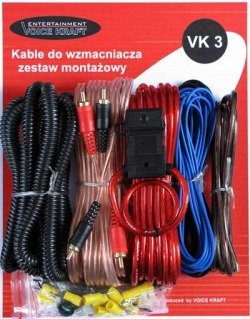 Set of CONNECTING cables for VK-3 amplifier