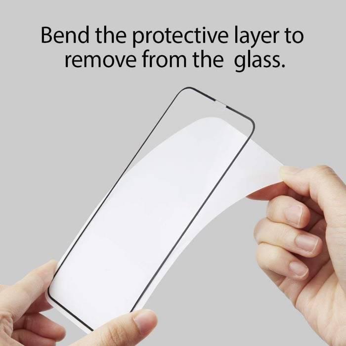 Tempered glass SPIGEN iPhone 11 Pro Max iPhone XS MAX GLAS.tR HD FC Full Glue