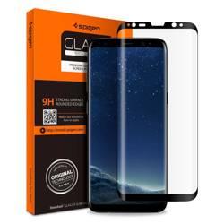 Tempered glass SPIGEN Glas.Tr Case Friendly Samsung Galaxy S8 Black Black