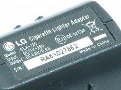 Autoladegerät LG CLA-120 KU800 KP500 KU990