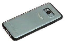 Etui SPIGEN Ultra Hybrid Samsung Galaxy S8 Mitternachtsschwarzes Gehäuse