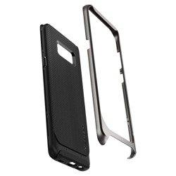 SPIGEN NEO Hybrid Samsung Galaxy S8 Rotguss + gehärtetes Glas SPIGEN Fall