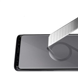 SPIGEN Neo Hybrid Samsung Galaxy S9 Plus glänzendes Schwarz + gehärtetes Glas SPIGEN Hülle