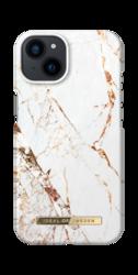 iDeal of Sweden Fashion - Schutzhülle für Apple iPhone 13 (Carrara Gold)