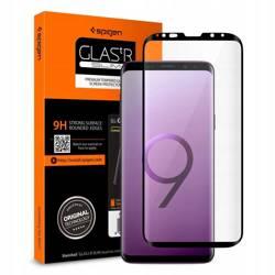Gehärtetes Glas SPIGEN GLAS.TR Fallfreundlich Samsung Galaxy S9 Plus G965 Schwarz