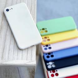 [PO ZWROCIE] Wozinsky Color Case silikonowe elastyczne wytrzymałe etui iPhone SE 2020 / iPhone 8 / iPhone 7 biały