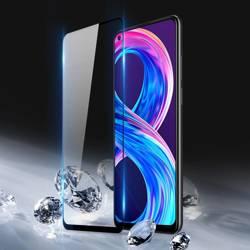 Dux Ducis 10D Tempered Glass wytrzymałe szkło hartowane 9H na cały ekran z ramką Realme 8 Pro / Realme 8 czarny (case friendly)