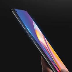 Dux Ducis 9D Tempered Glass wytrzymałe szkło hartowane 9H na cały ekran z ramką Oppo Reno 5 Lite / Reno 5 F czarny (case friendly)