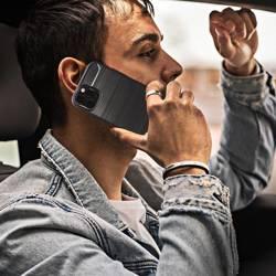 ETUI Futerał Forcell CARBON do IPHONE 13 MINI czarny CASE