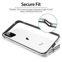 Etui ESR Edge Guard Apple iPhone 11 Pro Max Silver Srebrne Case