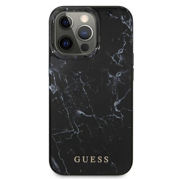 Etui GUESS Apple iPhone 13 Pro Max Marble Czarny Hardcase