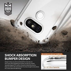Etui RINGKE Fusion LG G5 Rose Gold