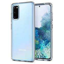 Etui SPIGEN Liquid Crystal Samsung Galaxy S20 Clear Przeźroczyste Case