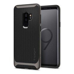 Etui SPIGEN NEO Hybrid Samsung Galaxy S9+ Plus Gunmetal + Szkło SPIGEN Case
