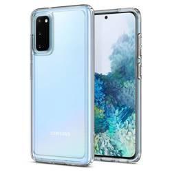 Etui SPIGEN Ultra Hybrid Samsung Galaxy S20 Crystal Clear Przeźroczyste Case