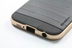 Etui Samsung Galaxy S6 VERUS Iron Shield Gold Jak Spigen SGP Pokrowiec