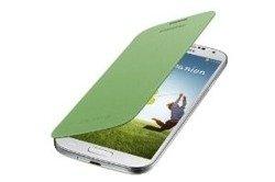 Futerał SAMSUNG Galaxy S4 SIV I9500 I9505 Pokrowiec Flip Etui EF-FI950BGEST1 Lime Limonkowy