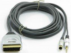 Kabel PROLINK Scart -  SVHS4P +3,5 STR 15m TCV7580