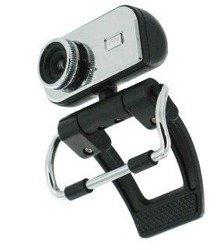 Kamera Internetowa 1.3MP USB 2.0 Z Mikrofonem Srebrna 4world