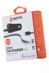Ładowarka Samochodowa iPhone Lightning GRIFFIN Powerjolt Dual Car Charger 2.4A