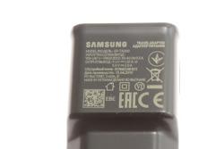 Oryginalna ŁADOWARKA SAMSUNG EP-TA200 Fast Charging Galaxy S8 S9 S10 A30 A40 A50 A70 Czarna