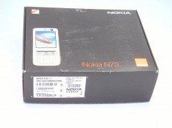 Pudełko NOKIA N73 Orange CD, Kabel
