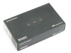 Pudełko SONY ERICSSON W980i Pudełko SE CD Kabel Sterowniki Instrukcja