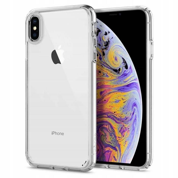 Spigen iPhone XS MAX Etui Ultra Hybrid Clear Przezroczyste Case Apple