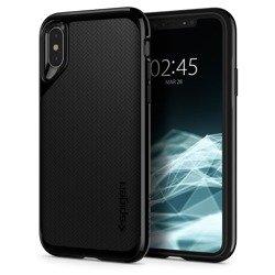 Spigen iPhone XS X Etui Neo Hybrid Jet Black Case Apple