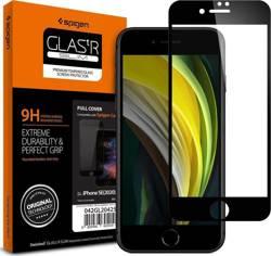 Szkło Hartowane SPIGEN iPhone 7/8/SE 2020 Glass Full Cover Black Czarne