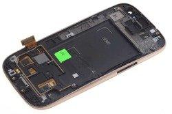 WYŚWIETLACZ SAMSUNG Galaxy S3 I9300 Grade B Brązowy LCD Dotyk Oryginalny