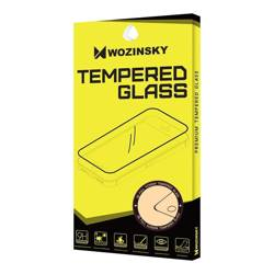 Wozinsky super wytrzymałe szkło hartowane Full Glue na cały ekran z ramką Case Friendly OnePlus 8 Pro czarny
