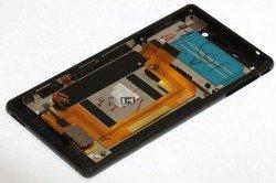 Wyświetlacz SONY Xperia M4 Aqua Dotyk LCD Czarny Grade A